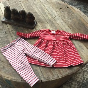 Hannah Anderson Girls red/ white girls outfit